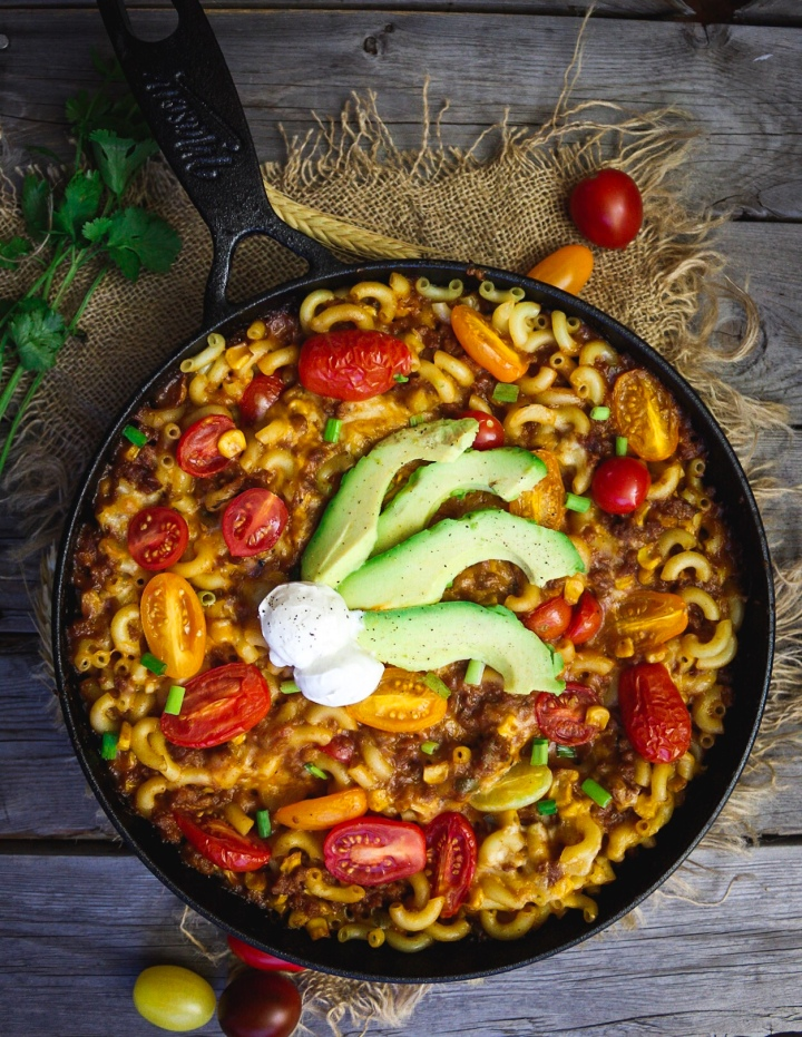 Easy Vegan Enchilada Mac andCheese