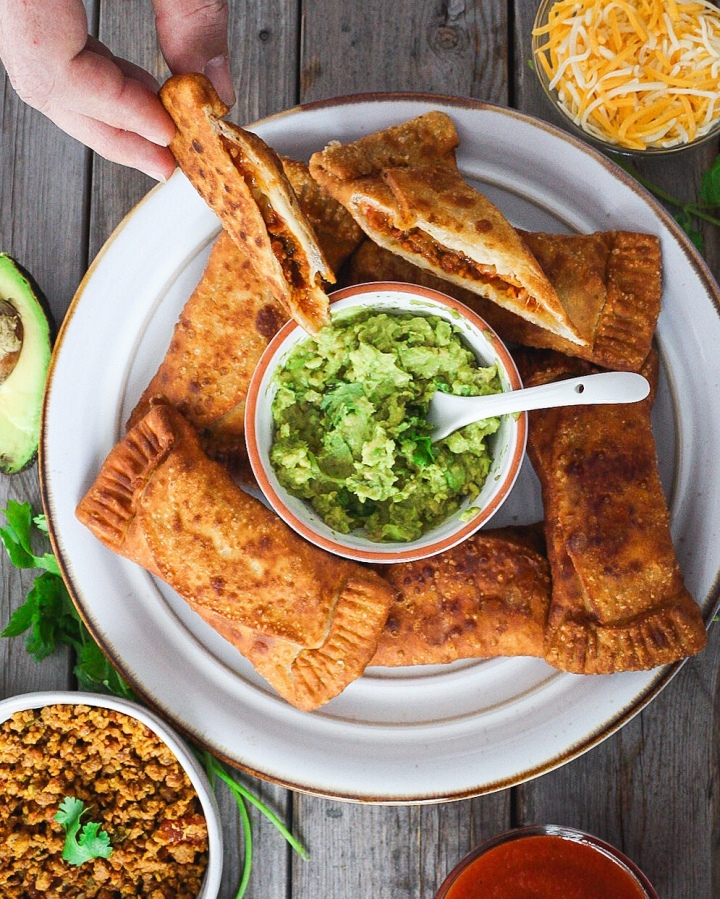 Vegan Puerto RicanTacos