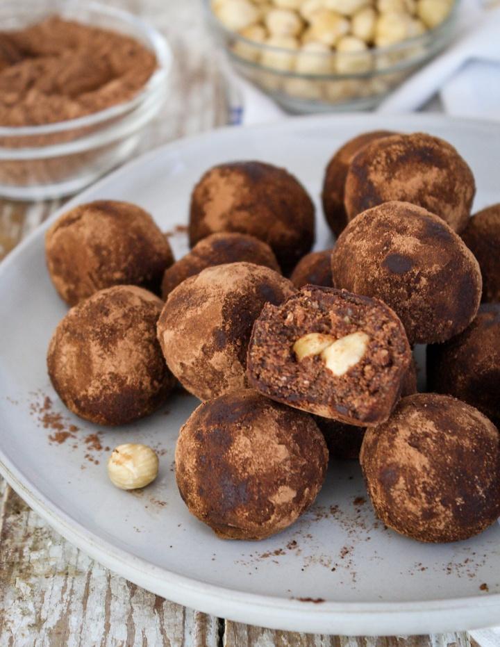 Peanut Butter HazelnutTruffles