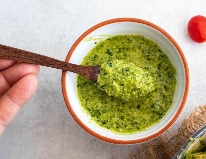 Kale, Spinach & CashewPesto