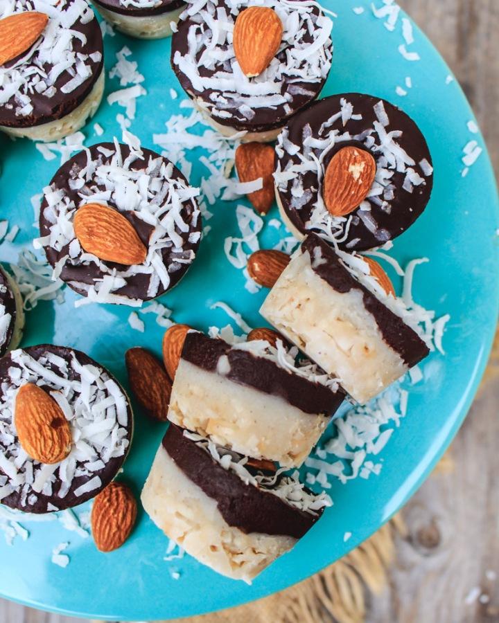 Vegan Almond Joy Cups  (Gluten-Free +Healthy)